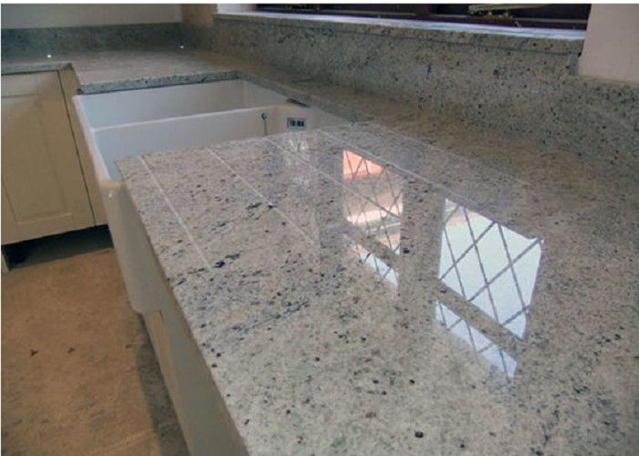 Polished Bathroom Vanity Countertops 128.5MPa Up Dry Compression Strength