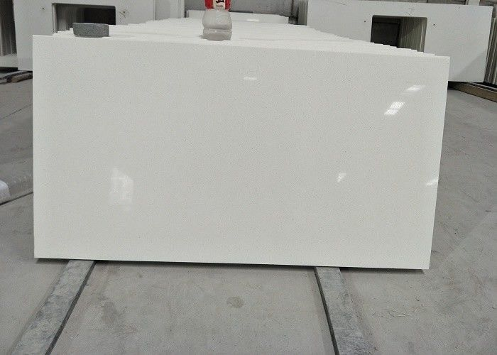 Pre cut quartz stone vanity top Eased Edge Water Absorption < 1.0%