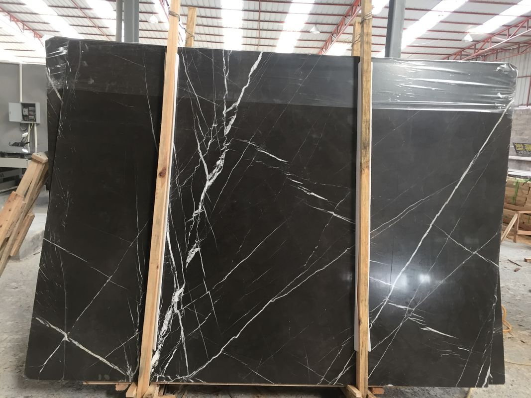 Polished Finish Stone Natural Marble Tile Custom Size Dolomite Marble Type